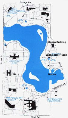 Wascana Map: West